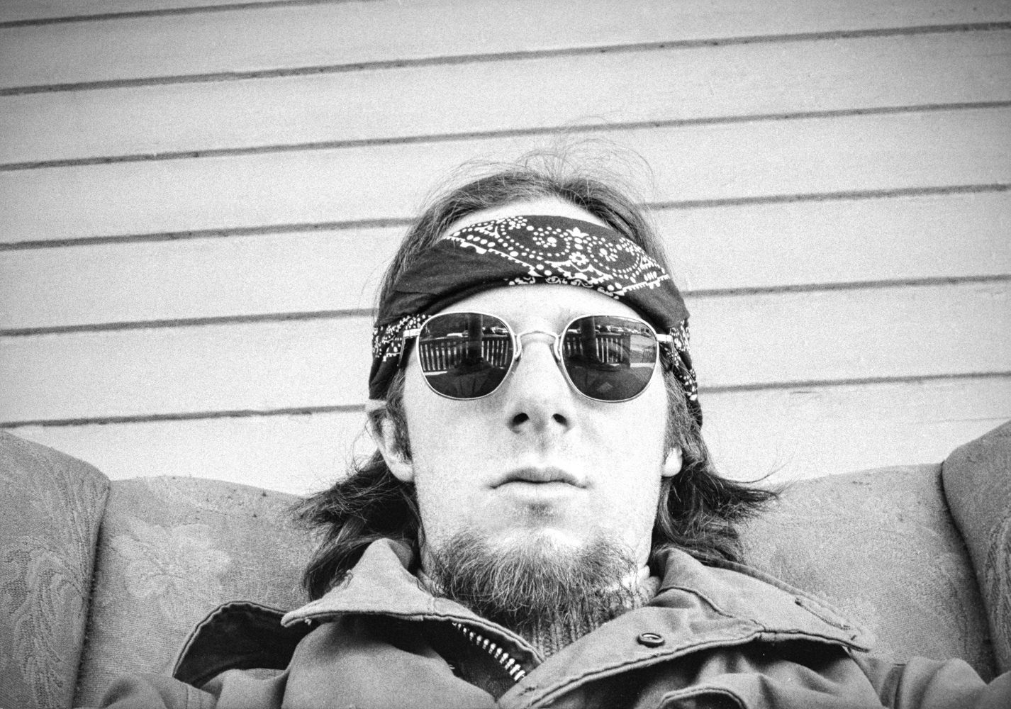 Self-portrait, Rochester, NY 1971