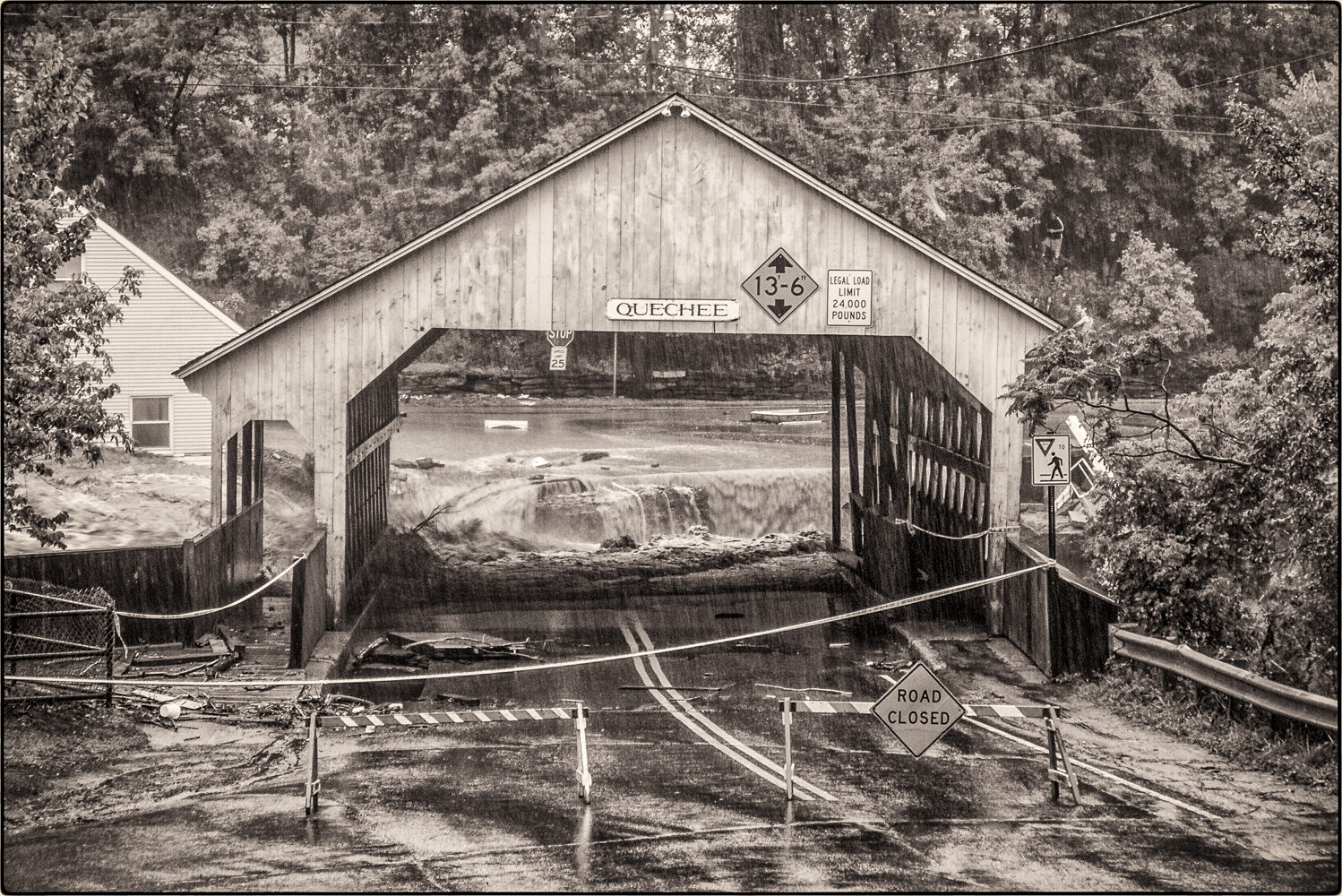 Quechee-covered-bridge-washout